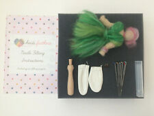 Heidifeathers Needle Felting Kit - Without Wool - You choose the Handle