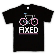 FIXED GEAR BICYCLE FIXIE CYCLING FASHION T SHIRT ALL COLOURS AND SIZES
