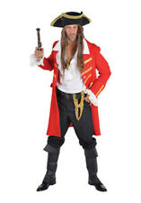 Deluxe Posh PIRATE - Captain Hook / Jack Sparrow - THE FULL LOOK inc Wig/Hat