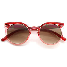 Wonderful Reborn Vintage 1950s Era Circle Round Frame Optical Sunglasses 8619