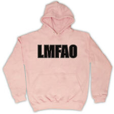 LAUGHING MY ASS OFF WEB SLANG LMFAO KIDS HOODED TOP HOODIE ALL COLS & SIZES