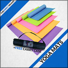 Yoga Exercise Fitness Workout Mat Physio Pilates Festivals Camping Non Slip 6mm