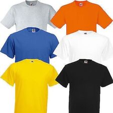 Fruit of the Loom Men's Heavy Cotton  T Shirt Pack of 3--D1
