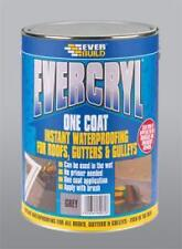 EVERBUILD EVERCRYL 1 COAT GREY ROOF REPAIR PAINT 1 OR 2.5 KG ***SPECIAL OFFER***