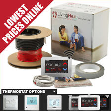 Underfloor Heating Cable Kit with Thermostat Option For Under Tile Floor Heating