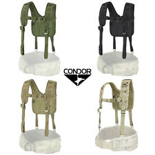 CONDOR 215  - H- Harness - OD BLACK COYOTE MULTICAM A-TACS