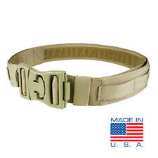 CONDOR US1016 - Universal Pistol Belt - TAN BLACK MULTICAM
