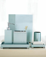 HOTEL Collection AEGEAN Bath Accessories Blue You Pick the Piece Individual