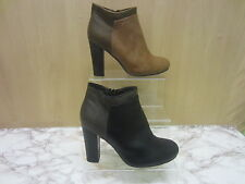 Ladies CoCo High Heel Zip Ankle Boot 'L8628'