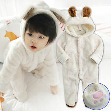 "NWT Vaenait Baby Winter Snowsuit Fleece Hoodie Jumpsuit Outwear ""Cozy_Doggy"""