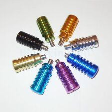 2 pcs Aluminum Alloy tattoo machine grips tubes in 8 colors-free/fast shipping