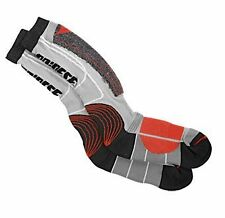 Dainese Motorbike Socks Red & Grey Sports/Touring Knee High or Mid EU38-47 S-L