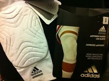 adidas Men's Padded Knee GFX Compression Sleeve Black or White