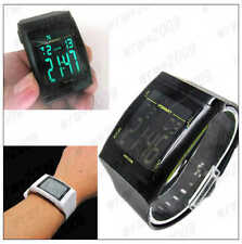 Leisure Stylish Square Dial Waterproof Digital Unisex sport wrist watch D36
