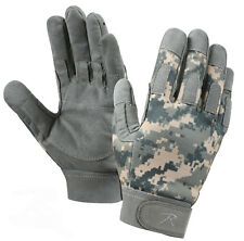 military duty gloves army acu digital camo lightweight tactical rothco 3456