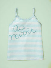 NEW GAP CROCHETED GRAPHIC TANK TOP SIZE 12-18-24M 5T