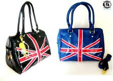 LADIES UNION JACK HANDBAG UK BRITISH FLAG TOTE SATCHEL SHOULDER BAG XMAS GIFT