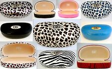 New DG Hard Sunglasses Case-15 Different Choices! Leopard/Zebra Prints&Solids!
