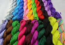 1pc 1.0mm 25M/roll Chinese Knotting Nylon String Beading Bracelet Thread Cord