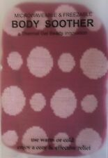 Microwaveable and Freezable Body Soother