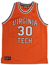 NEW! Virginia Tech University Hokies Authentic Throwback Jersey - Dell Curry #30