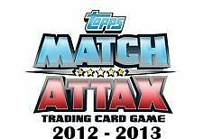 match attax 2012-13 man of the match cards pick the 1s you need