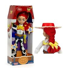 "2015 Disney Toy Story Talking  JESSIE  Doll 16"" YARN HAIR Pull String Buzz woody"