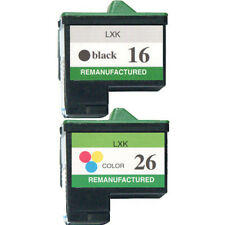 Non-OEM Replaces For Lexmark 16/17 & 26/27 Ink Cartridges