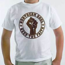 T-Shirt Northern Soul, maglietta bambino con logo Keep the faith, musica dance