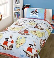 Pirates Treasure Quest, Bedding and Curtains Product Range - Treasure Map