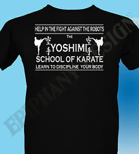 The Flaming Lips Inspired T-Shirt The Yoshimi Karate School Wayne Coyne