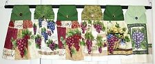 Hanging Kitchen Towel, Grape / Fruit Themes