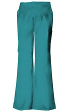 Cherokee Scrubs Flexibles Maternity Pant  2092 Teal Blue  FREE SHIPPING!