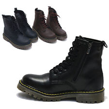 Women Military Style Ankle Boots High Top Footwear / Lady Combat Boots Shoe