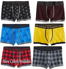 American Eagle Men's Low-Rise Trunks Boxer Shorts NWT many colors & sizes **