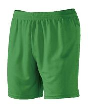 NEW Macron Junior Football Shorts  XXS (22/24) - 6/7 Years Green Football Shorts