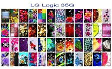 For LG Logic L35G Dynamic L38C Cover Case + Screen Protector