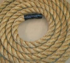 "1.25"" MANILA ROPE, NATURAL FIBER, DOCK LINE, SWING ROPE, ROPE FENCE, LANDSCAPING"