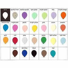 Balloon Confetti Card Stock Punches Cardstock Punch Balloons Party Decorations