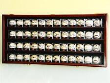 48 Acrylic Cubes Baseball / Hockey Cabinet Wall Display Case Horizontal Rack 98%