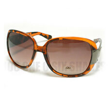Womens Retro Sunglasses DG Eyewear Fashion Shades New Black Tortoise