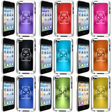 Apple iPod Touch 4th Generation Hard Case Cover Cute Hippo