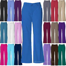 MEDICAL SCRUB Dickies Cargo Pants BACK ELASTIC, DRAWSTRING FLARE LEG Petite