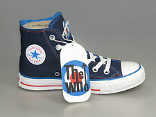Converse THE WHO JUMP HI Band Chucks 108834 DARK BLUE limited +Neu+versch.Größen