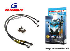 Goodridge Suzuki GSXR750Y-K3 00-03 Race Front Braided Brake Lines Hoses Stainles