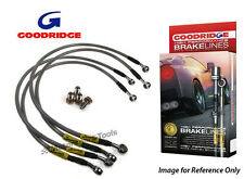 Goodridge For BMW M635 CSi (E34) + M5 (E28) Braided Brake Kit Lines Hoses