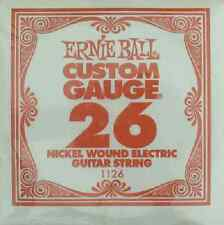Ernie Ball Nickel Wound Electric Single Guitar Strings 5 Count Packs