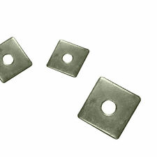 SQUARE PLATE WASHERS Zinc Plated 50mm x 50mm M10 & M12 Square Washers