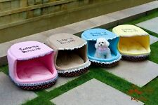 Pet House Dog Bed Cat Puppy Cushion Couch Dog Kennel Princess Bed With Lace