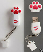 cute cat claw model 4-32GB USB 2.0 Enough Memory Stick Flash pen Drive